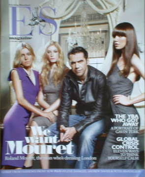 <!--2008-10-17-->Evening Standard magazine - Roland Mouret cover (17 Octobe