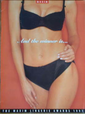MAXIM supplement - The Maxim Lingerie Awards 1997
