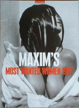 MAXIM supplement - Most Wanted Women 1997