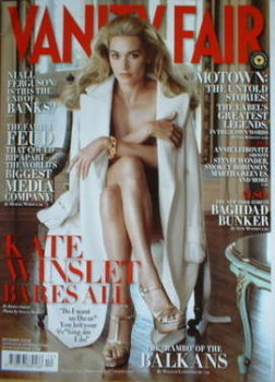Vanity Fair magazine - Kate Winslet cover (December 2008)