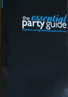 <!--2008-09-->Evening Standard booklet - The Essential Party Guide (Autumn/