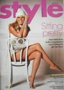 Style magazine - Heidi Klum cover (26 August 2007)