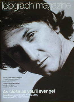 <!--2004-10-16-->Telegraph magazine - Sean Penn cover (16 October 2004)