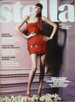 <!--2009-05-03-->Stella magazine - Couture Collections cover (3 May 2009)