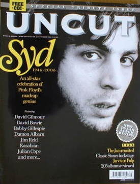 <!--2006-09-->Uncut magazine - Syd Barrett cover (September 2006)