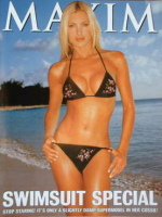 MAXIM supplement - Swimsuit Special (Caprice cover)