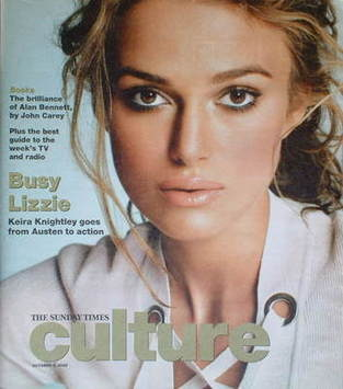 <!--2005-10-02-->Culture magazine - Keira Knightley cover (2 October 2005)