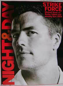 Night & Day magazine - Michael Owen cover (21 March 2004)