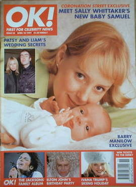 <!--1997-04-18-->OK! magazine - Sally Whittaker cover (18 April 1997 - Issu