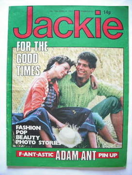 <!--1981-04-04-->Jackie magazine - 4 April 1981 (Issue 900)