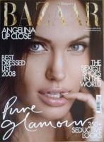 <!--2008-12-->Harper's Bazaar magazine - December 2008 - Angelina Jolie cover
