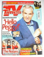 <!--2009-07-04-->TV Times magazine - Larry Lamb cover (4-10 July 2009)