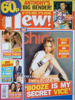 New magazine - 29 August 2005 - Victoria Beckham cover