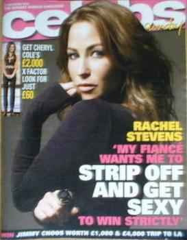 Celebs magazine - Rachel Stevens cover (16 November 2008)