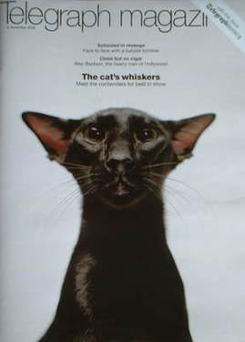 <!--2008-11-15-->Telegraph magazine - The Cat cover (15 November 2008)