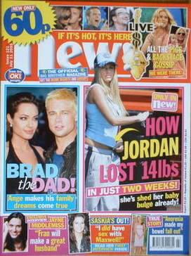 <!--2005-07-11-->New magazine - 11 July 2005 - Katie Price cover