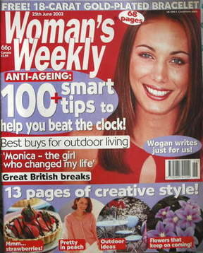 <!--2002-06-25-->Woman's Weekly magazine (25 June 2002)