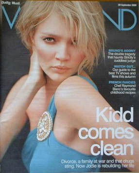 Weekend magazine - Jodie Kidd cover (20 September 2008)