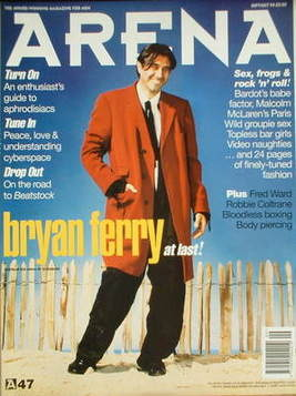<!--1994-09-->Arena magazine - September/October 1994 - Bryan Ferry cover