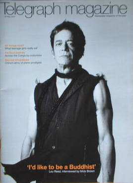 <!--2007-05-26-->Telegraph magazine - Lou Reed cover (26 May 2007)