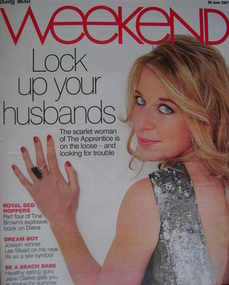 <!--2007-06-30-->Weekend magazine - Katie Hopkins cover (30 June 2007)
