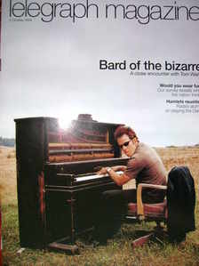 <!--2004-10-02-->Telegraph magazine - Tom Waits cover (2 October 2004)