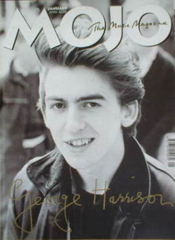 MOJO magazine - George Harrison cover (January 2002 - Issue 98)