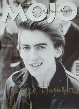 <!--2002-01-->MOJO magazine - George Harrison cover (January 2002 - Issue 9
