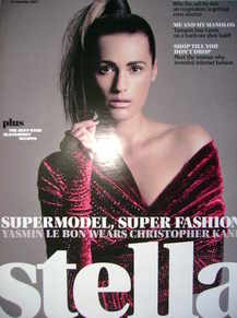 Stella magazine - Yasmin Le Bon cover (16 September 2007)