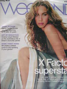 Weekend magazine - Leona Lewis cover (20 October 2007)