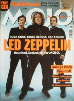 MOJO magazine - Led Zeppelin cover (June 2003 - Issue 115)