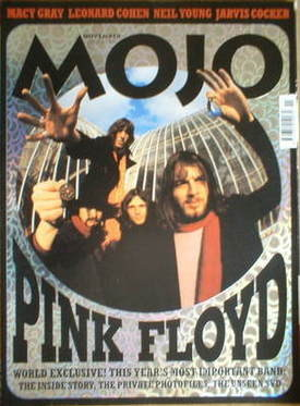 <!--2001-11-->MOJO magazine - Pink Floyd cover (November 2001 - Issue 96)