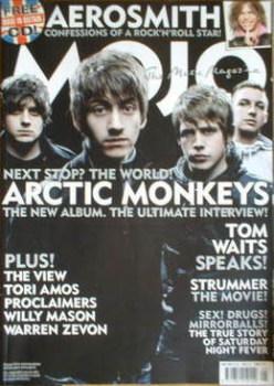 MOJO magazine - Arctic Monkeys cover (May 2007 - Issue 162)