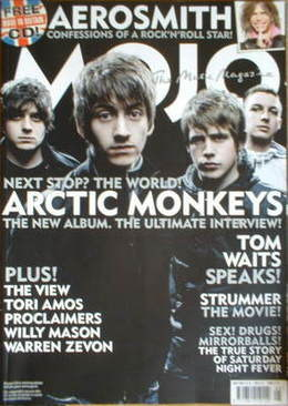<!--2007-05-->MOJO magazine - Arctic Monkeys cover (May 2007 - Issue 162)