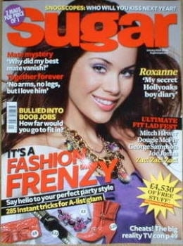 Sugar magazine - Roxanne McKee cover (January 2009)