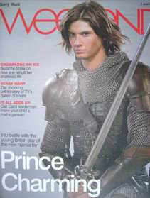 Weekend magazine - Ben Barnes cover (7 June 2008)