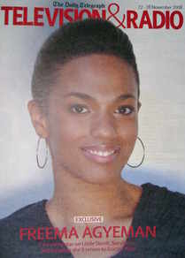 Television&Radio magazine - Freema Agyeman cover (22 November 2008)