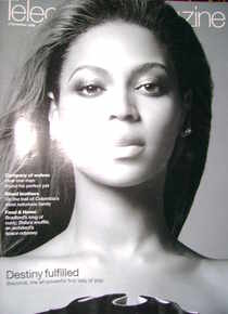 <!--2008-11-08-->Telegraph magazine - Beyonce cover (8 November 2008)