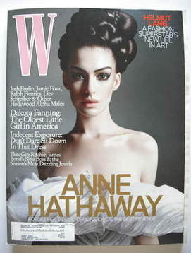 <!--2008-10-->W magazine - October 2008 - Anne Hathaway cover