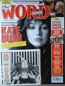<!--2009-02-->The Word magazine - Kate Bush cover (February 2009)