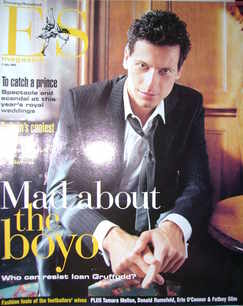 <!--2004-07-09-->Evening Standard magazine - Ioan Gruffudd cover (9 July 2004)