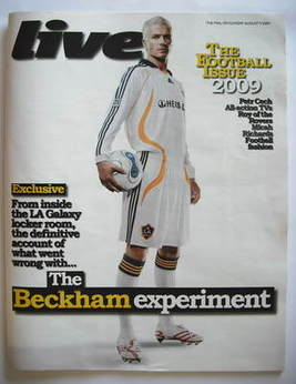 Live magazine - David Beckham cover (9 August 2009)