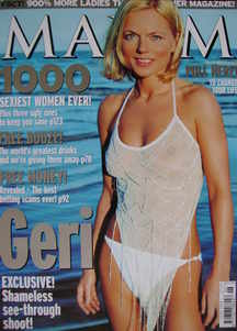 MAXIM magazine - Geri Halliwell cover (June 2001)