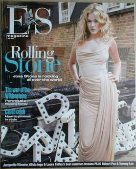 Evening Standard magazine - Joss Stone cover (1 July 2005)