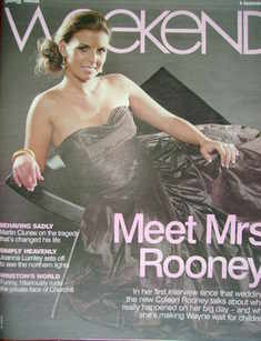 Weekend magazine - Coleen Rooney cover (6 September 2008)