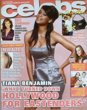 <!--2008-01-20-->Celebs magazine - Tiana Benjamin cover (20 January 2008)