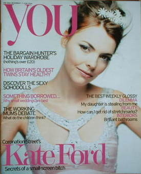 <!--2006-06-11-->You magazine - Kate Ford cover (11 June 2006)