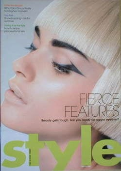 <!--2007-05-27-->Style magazine - Fierce Features cover (27 May 2007)