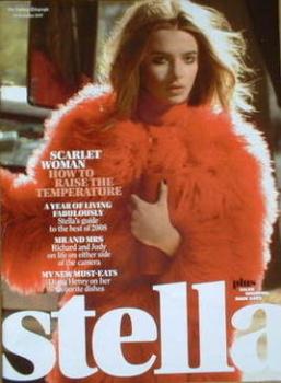 Stella magazine - Scarlet Woman cover (30 December 2007)