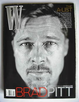 <!--2009-02-->W magazine - February 2009 - Brad Pitt cover